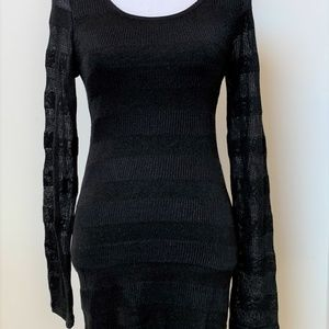 Threads For Thought Sz S Dress Black Womens Stretc